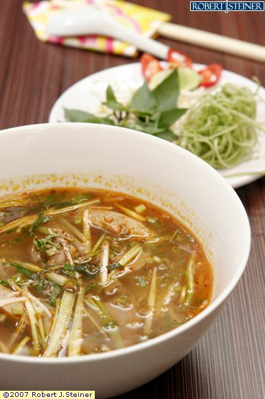 Spicy Beef Noodle Soup/ Bun Bo Hue by