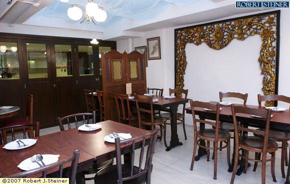 Bumbu restaurant interior