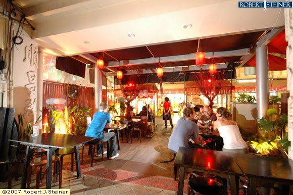 Singapore heritage restaurant interior