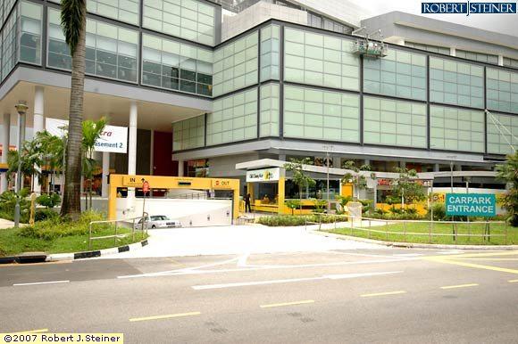 Amk Hub Car Park Entrance