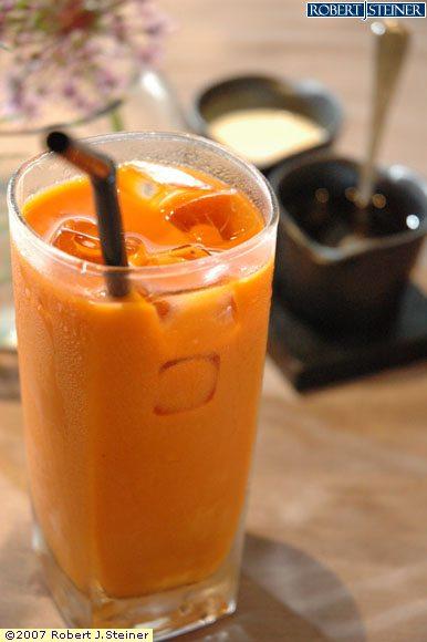 Thai Iced Tea by Patara Fine Thai Cuisine