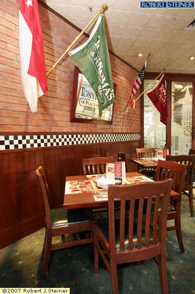 Tony roma s ribs afood steaks restaurant interior