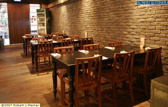 The station kitchen restaurant interior