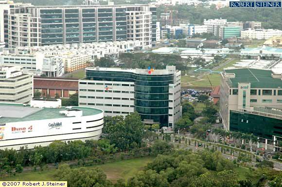 Top View of CJ Korea Express Building Building Image, Singapore