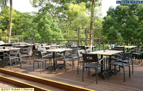 Grill Out Outdoor Dining Area