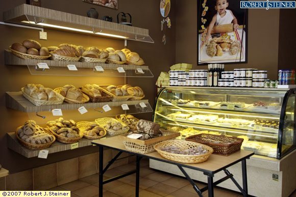 Bakery Cafe Interior Stock Photo