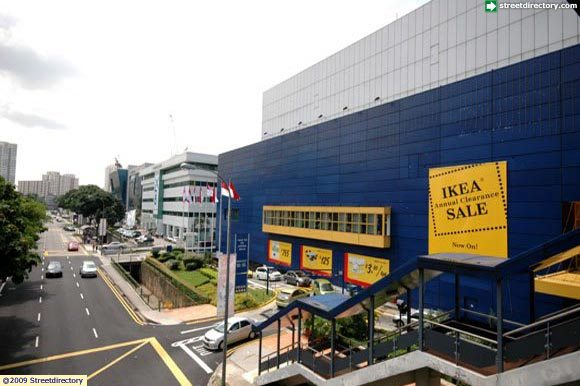 Side view of ikea alexandra building image singapore for Ikea driving directions