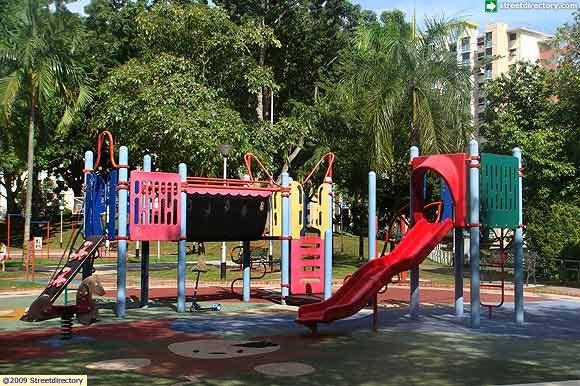 Playground Of Alexandra Hill East Neighbourhood Park