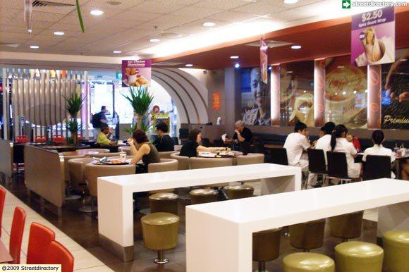 Interior 1. Where : McDonaldu0027s