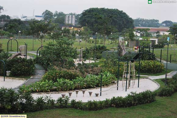 Main View of Jurong Central Park