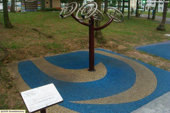 Fitness corner of yishun town garden