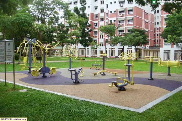 Fitness corner of pasir ris street park