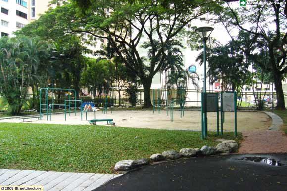 Fitness corner of serangoon community park