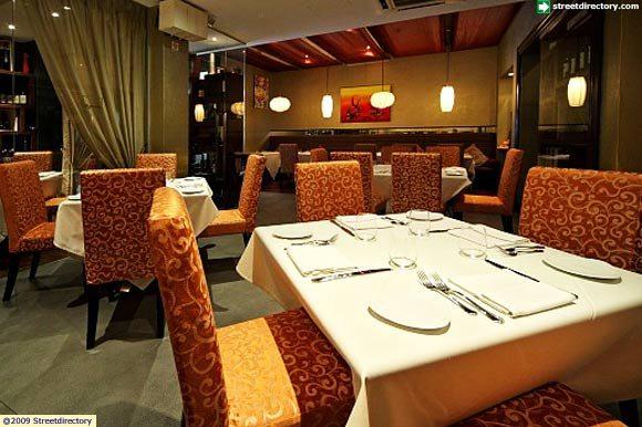 Capricci italian restaurant interior view