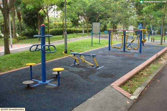 Fitness corner of tampines north park