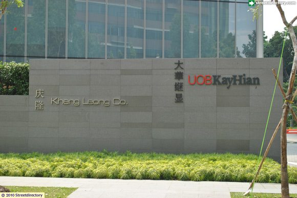 Signage of UOB Kay Hian Building Image, Singapore