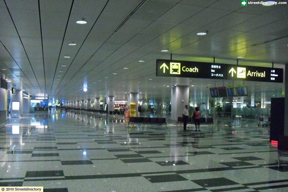 arrival hall of changi airport terminal 3 building image