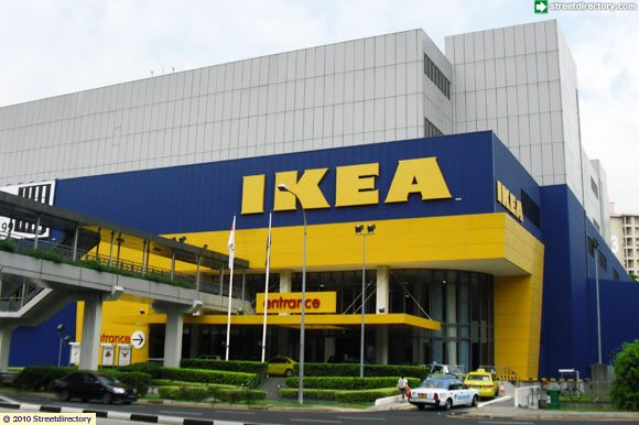 Front view of ikea alexandra building image singapore for Ikea driving directions