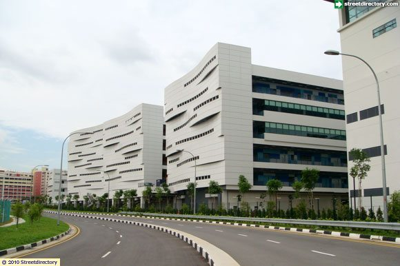 Side View of ITE COLLEGE WEST (Choa Chu Kang) Building Image ...