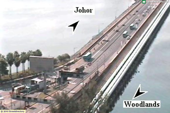 Image of Traffic Camera Causeway @ Woodlands Causeway (Towards Johor ...