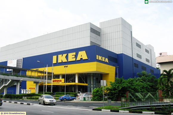 Overview of ikea alexandra building image singapore for Ikea driving directions