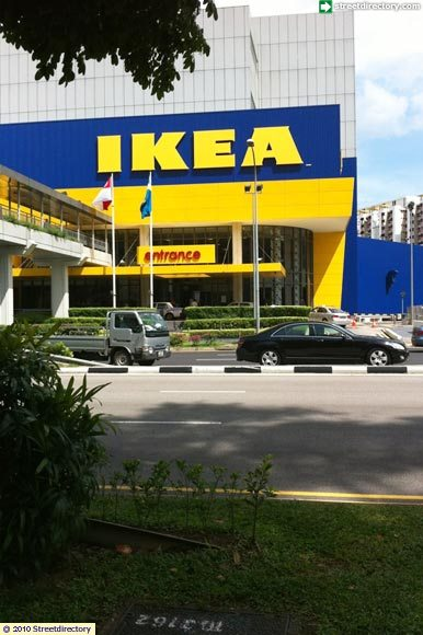 Side view 2 of ikea alexandra building image singapore for Ikea driving directions