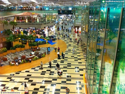 Main View of Changi Airport Terminal 3 Building Image ...
