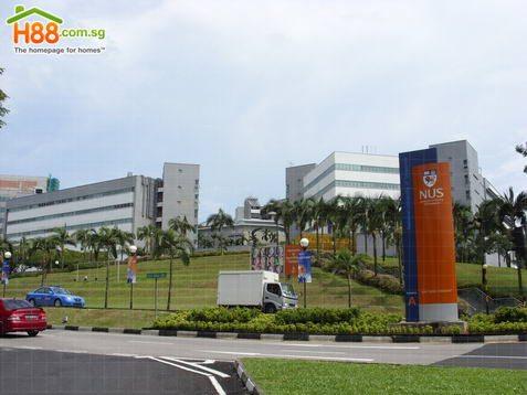 Main View of Kent Ridge Campus - National University Of ...