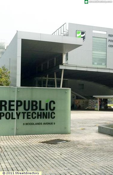 Signage Of Republic Polytechnic Building Image Singapore