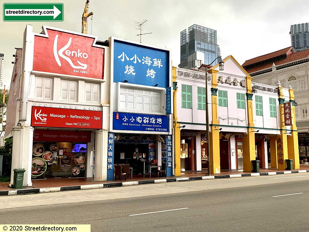 Telok Ayer Shop Houses