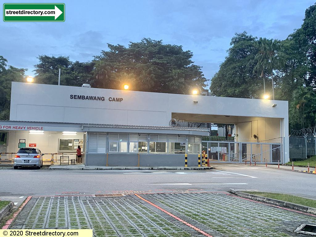 Main Entrance & Guardroom - Sembawang Camp