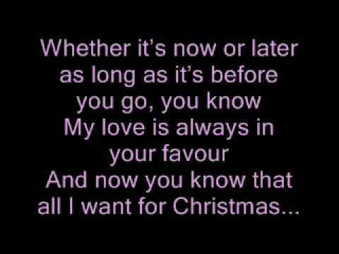 all i want for xmas is us with jason mraz lyrics by tristan prettyman - All I Want For Christmas Is You Youtube